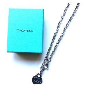 Authentic Tiffany & Co. Heart Shaped Choker
